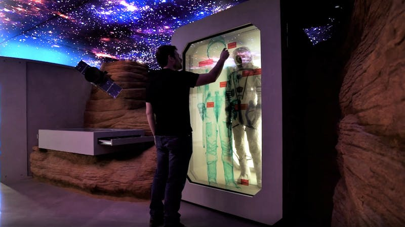 Immersive experience centers
