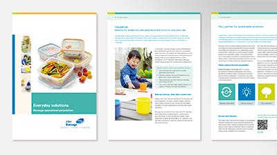 Application brochures for every segment