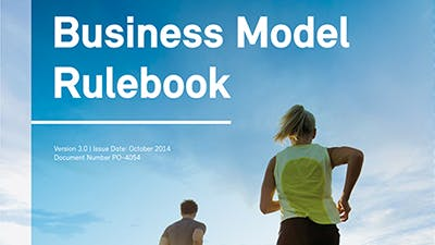 Business reference book design