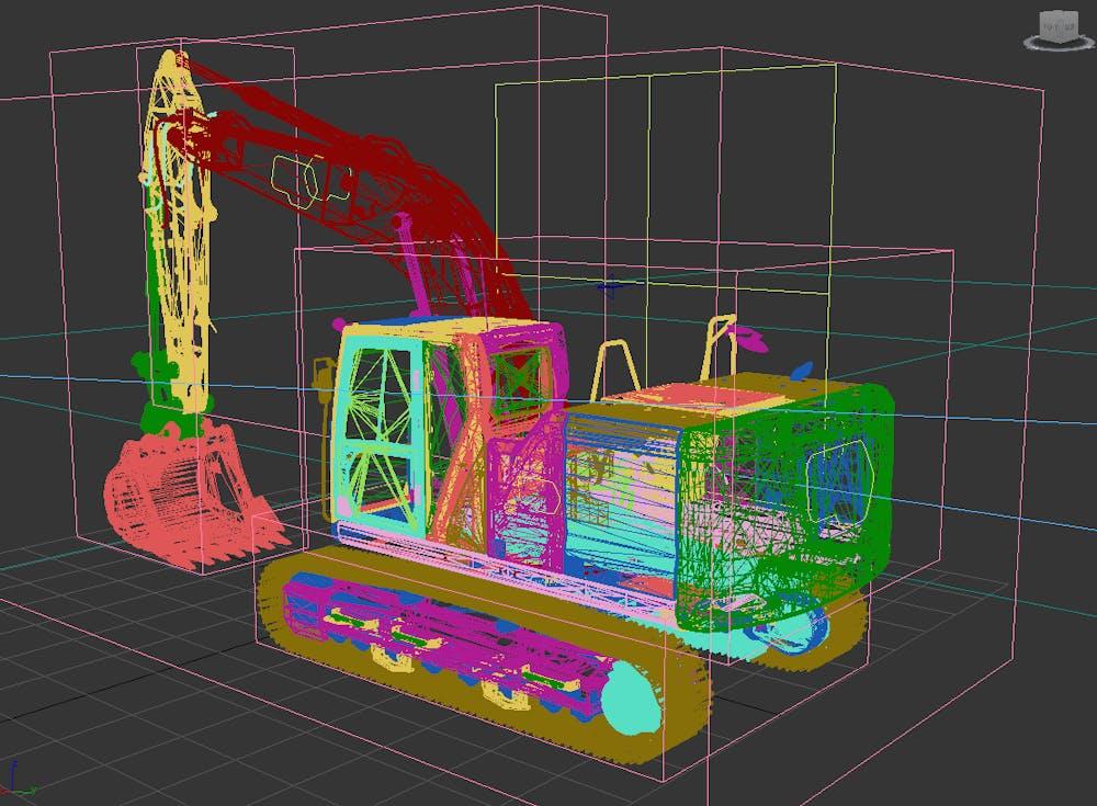 Caterpillar connectivity creation G1