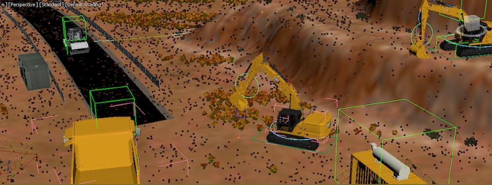 Caterpillar connectivity creation G2