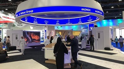 Creative interactivity at ADIPEC