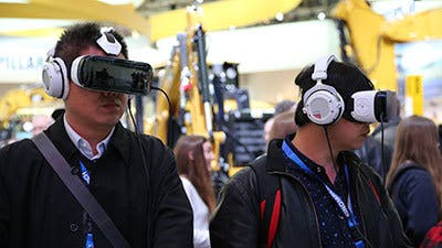 Digital experiences attract trade fair visitors