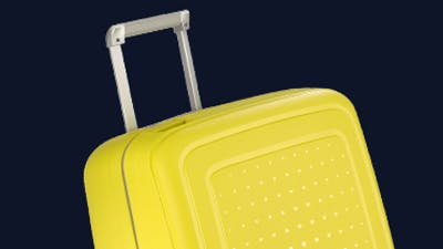 Fun suitcases – serious testing