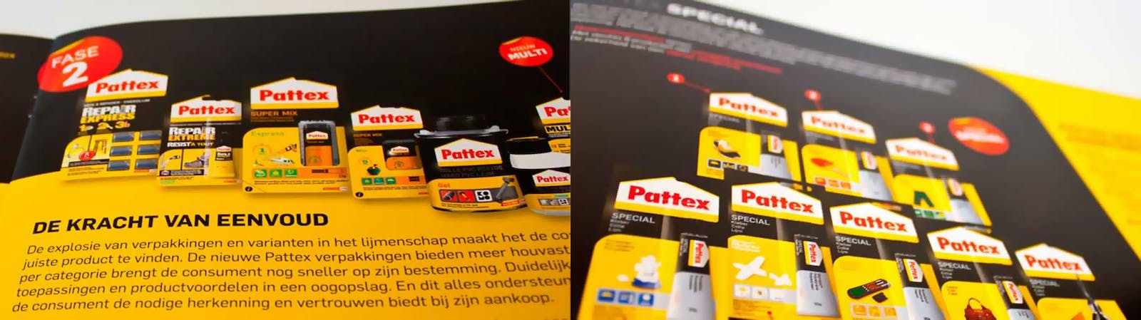 Pattex brochures detail