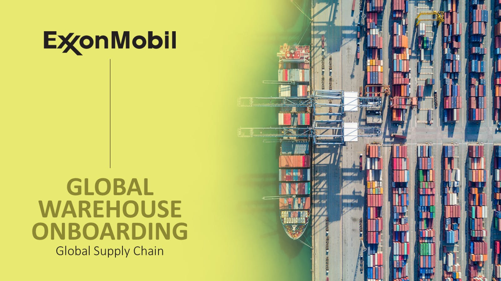 Exxon Supply Chain Ware Slide1