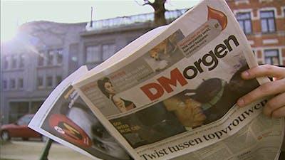 Video toont de geboorte van de krant