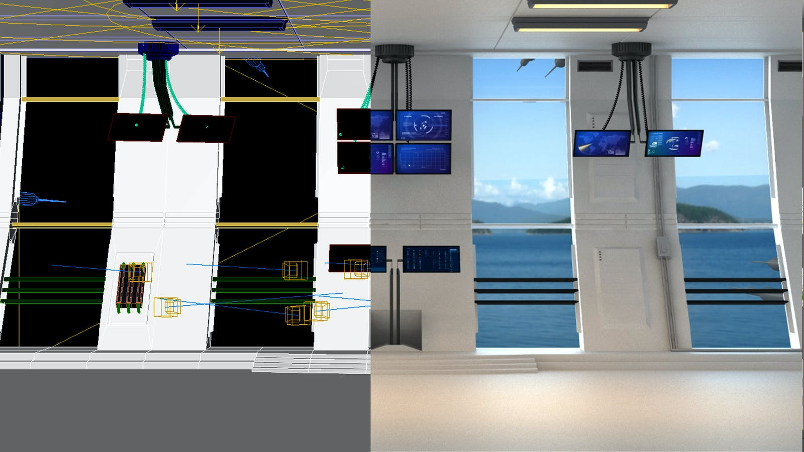 Atlas Copco webinar screens