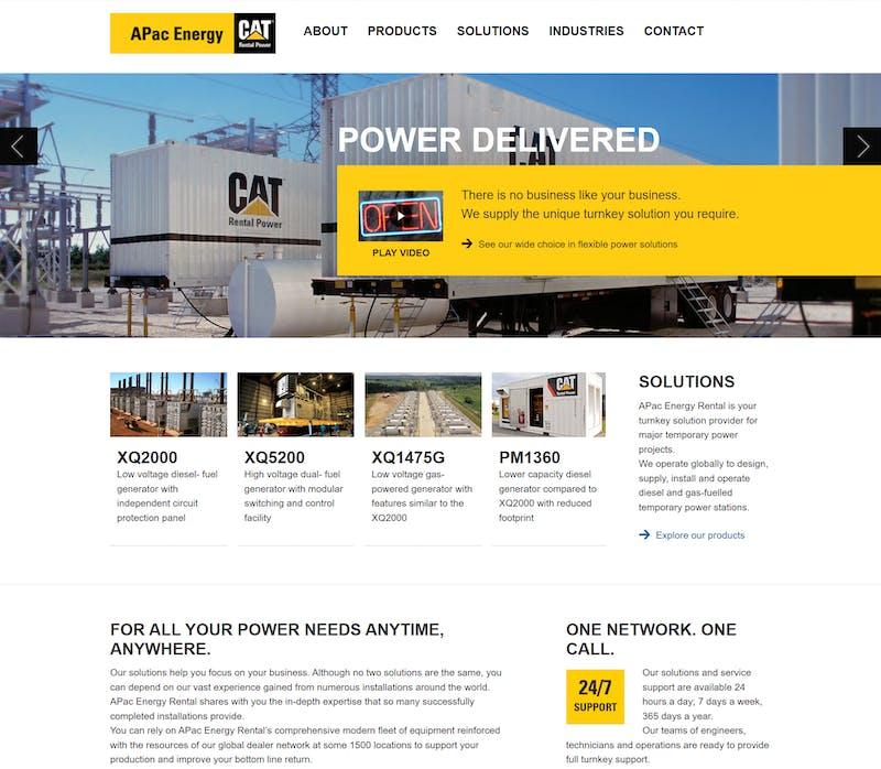 APA Cenergy home page