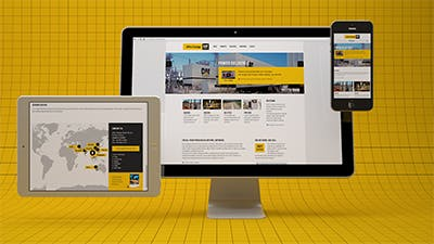 Powerful responsive web design