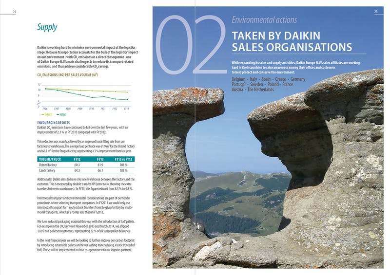 Daikin environmental report G4