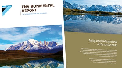 Printed environmental report