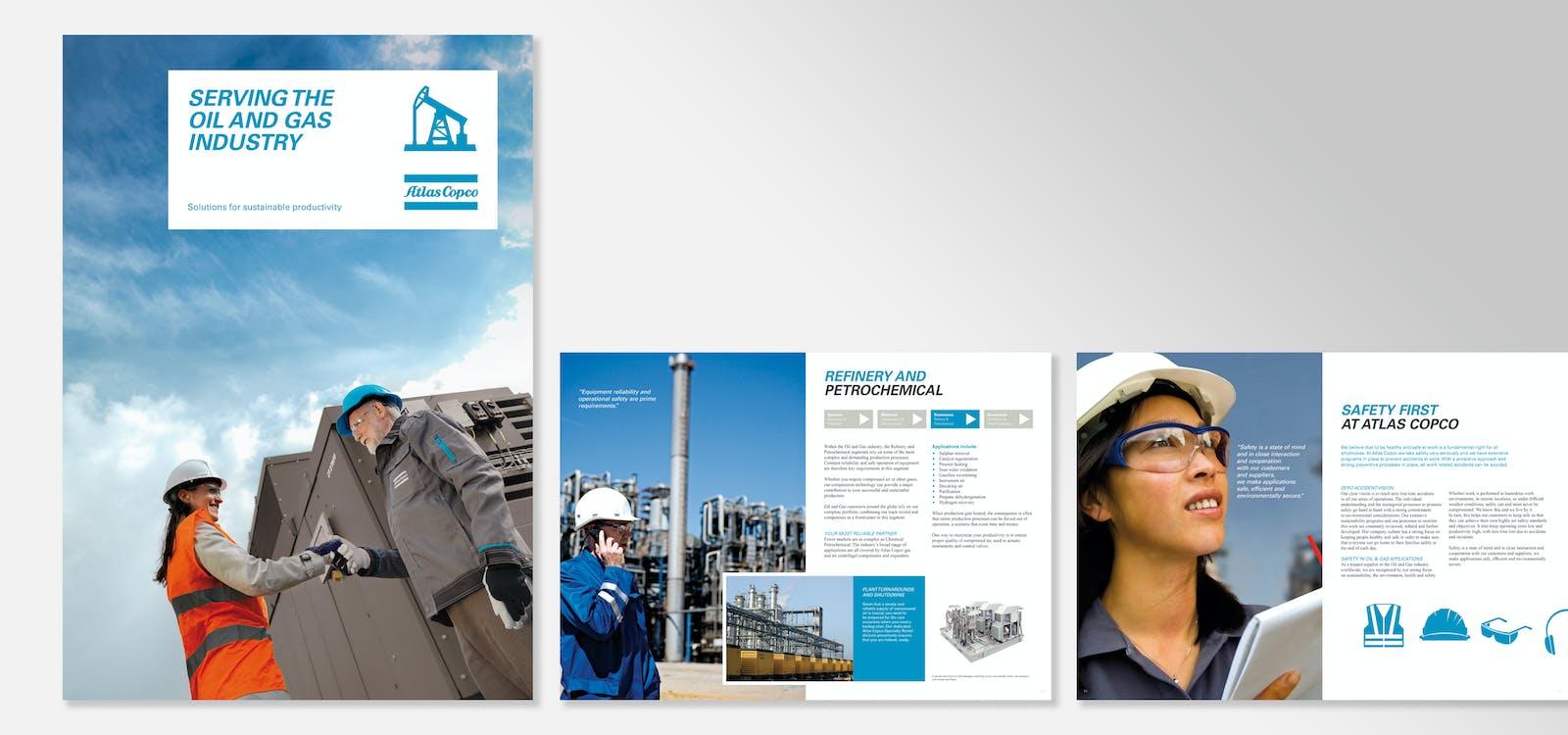 Atlas copco oil gas