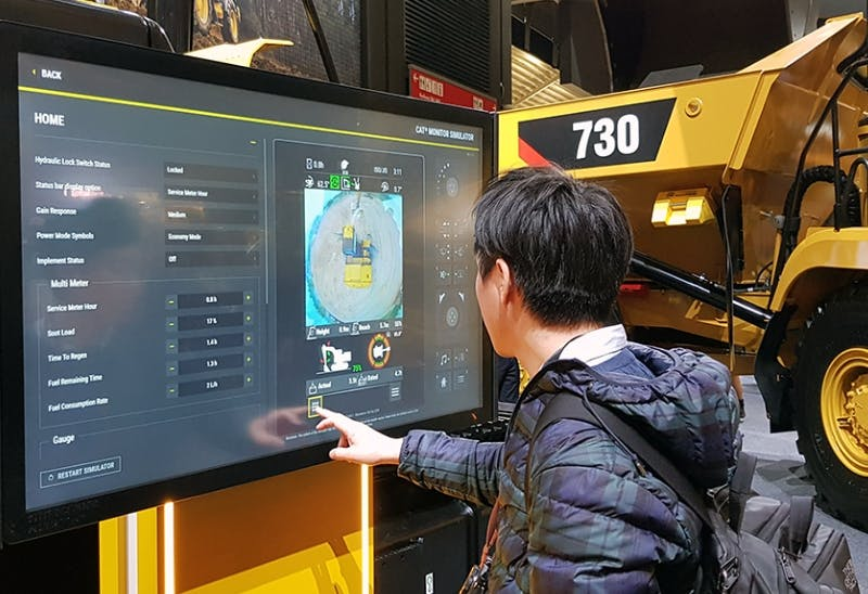 CAT at Bauma 2019 touch