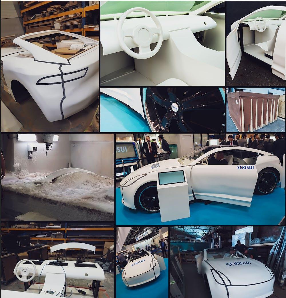 Sekisui glass VR car