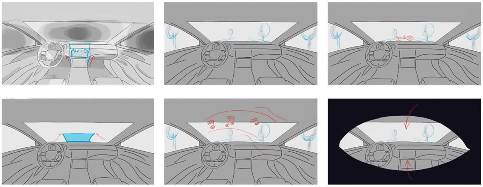 Sekisui glass VR driver seat