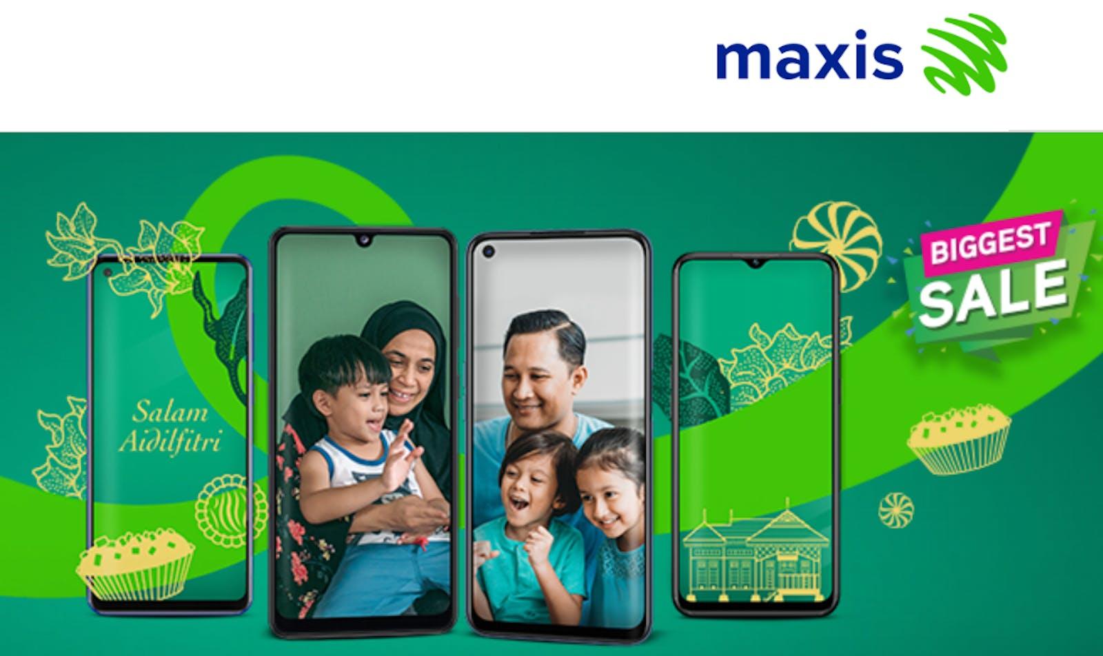 Maxis phone company ISP Malaysia