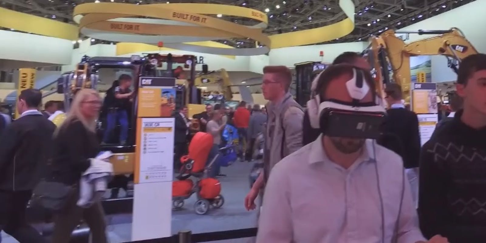VR success at Bauma 2016 fair