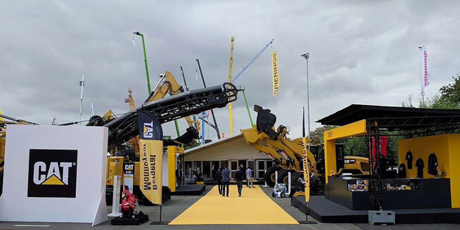 Bergerat Monnoyeur booth at Matexpo fair
