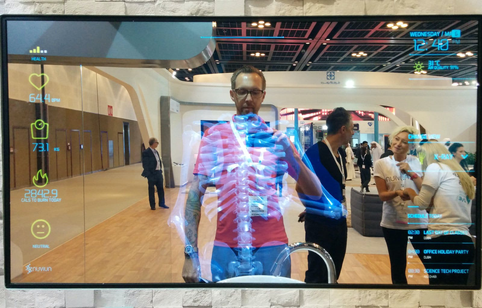 Health mirror at Digital Health fair