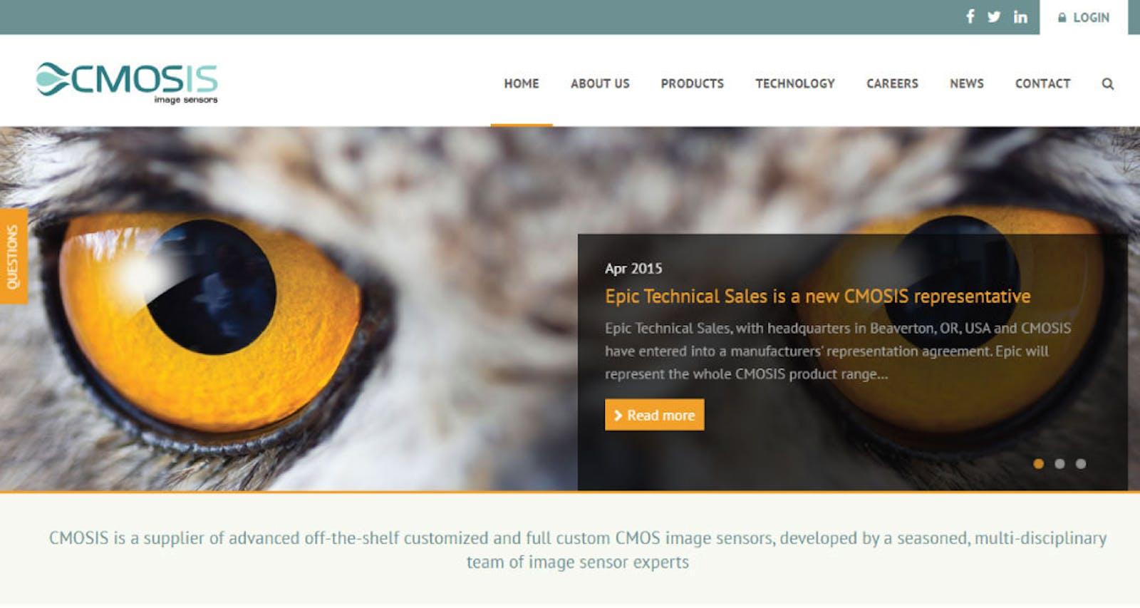 Cmosis website