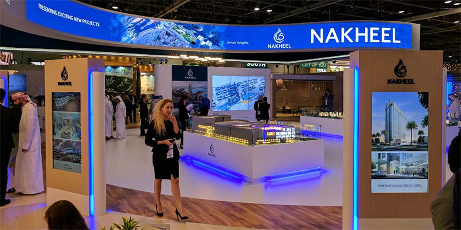 Nakheel interactive at Cityscape event