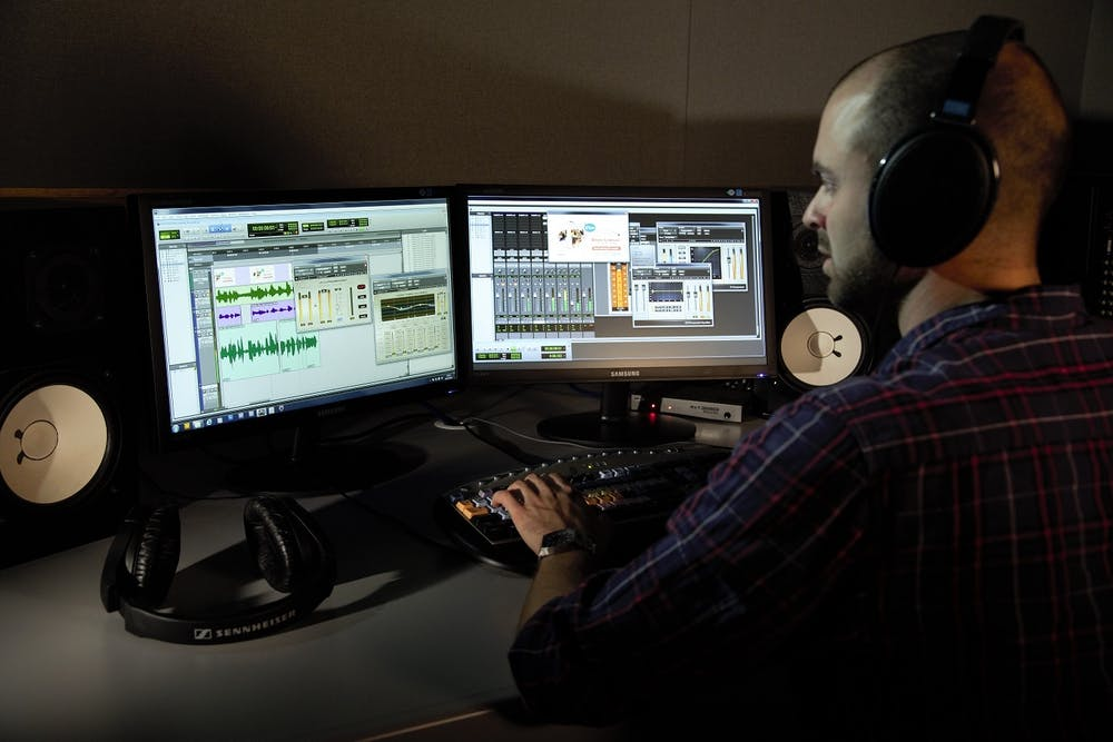 Video services sound editing